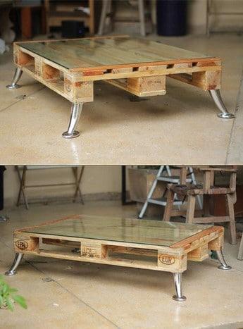 Table Pieds Inox