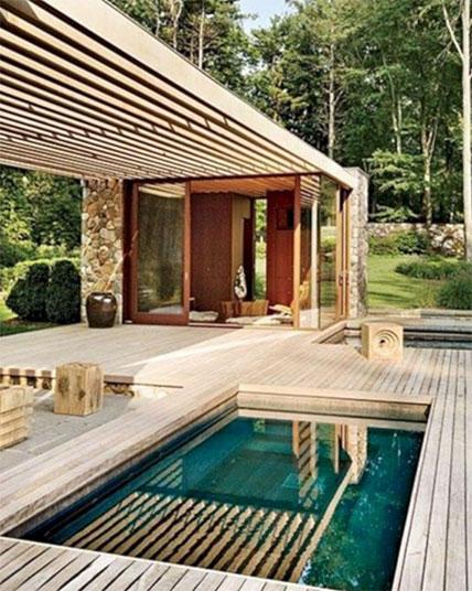 Terrasse élégante