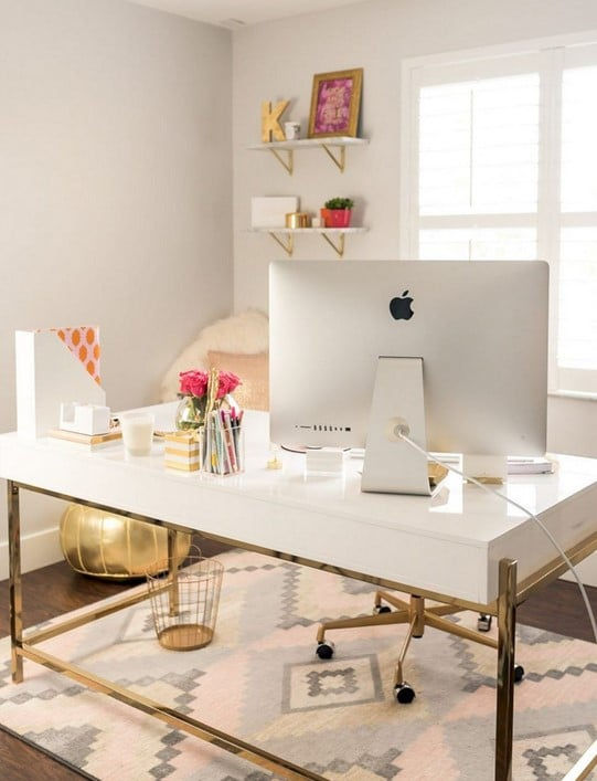 bureau scandinave Version Chic