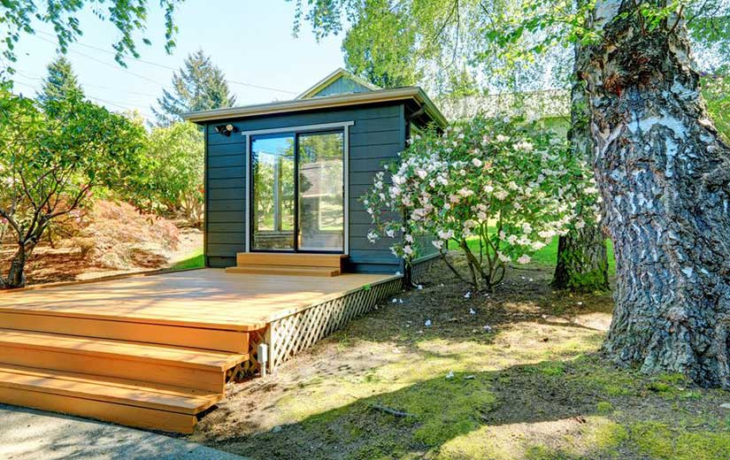 Amenager un Studio dans le Jardin