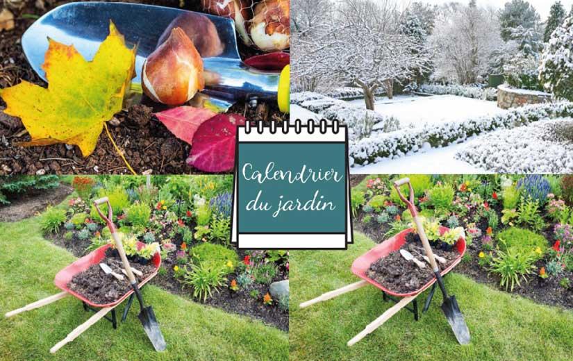 Calendrier Jardinage pour l'année