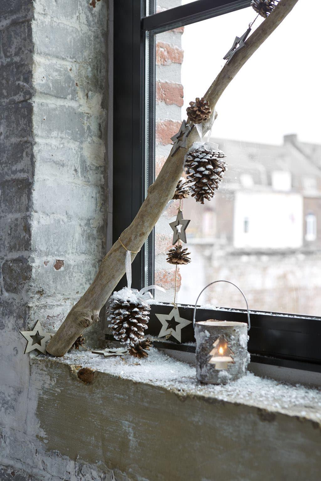 Deco fenêtre noël ▷ 16 supers idées pour décorer vos fenêtres !