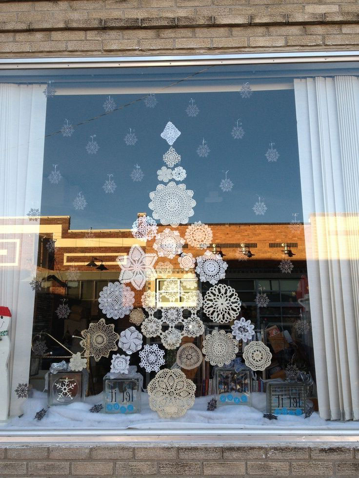 Magnifique Decoration Exterieur De Noel Fenetre