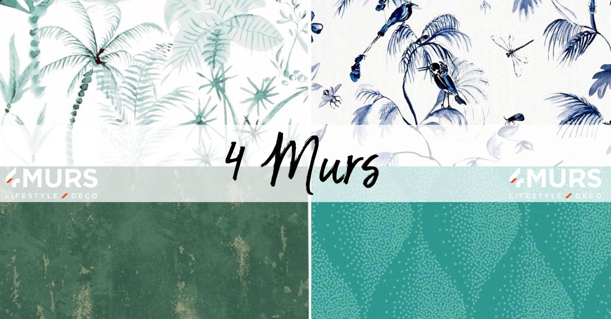 Papier Peint Entree Moderne 4 murs : selection des plus beaux modèles de papier peint | 2020