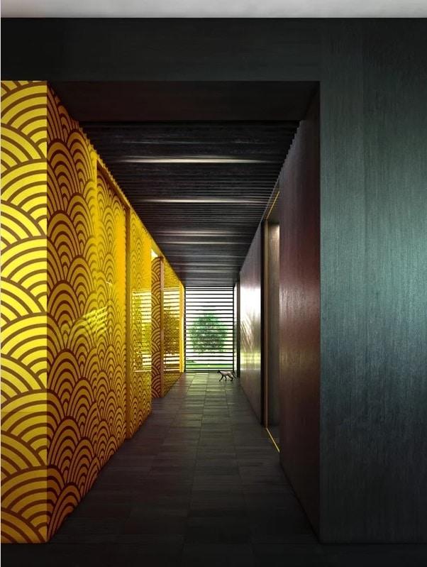 Couloir Art Déco
