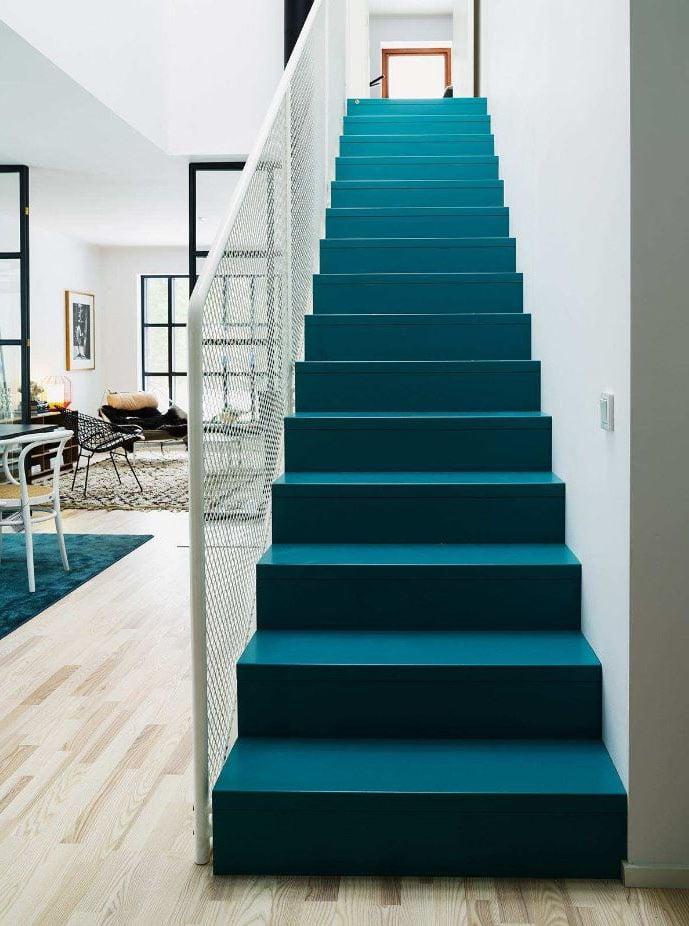 Escalier Bleu Canard