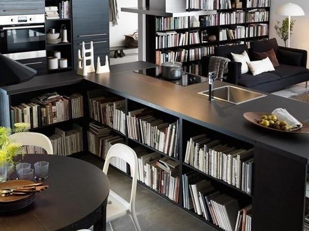 Ilot Bibliothèque