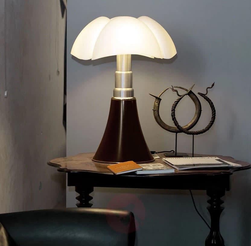 Lampe Pipistrello Pied Marron