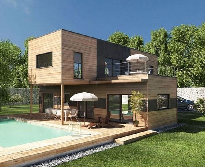 Luxueuse Construction Bois