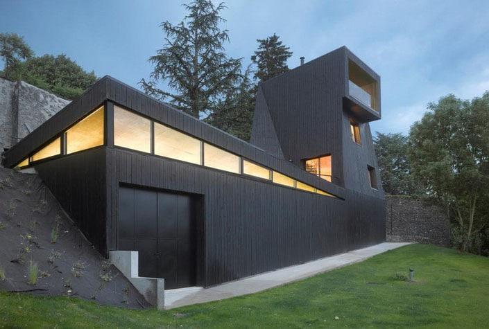 Maison Bois Noir