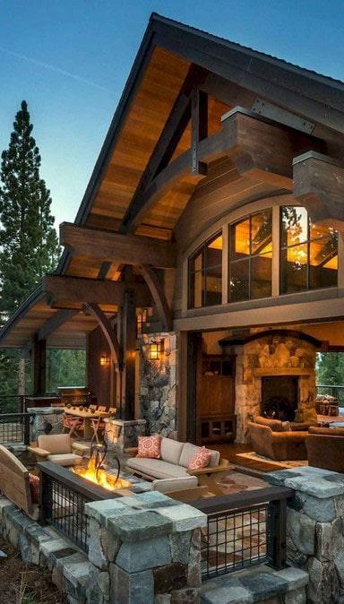 Maison Bois Rustique
