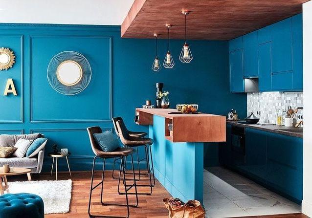 Peinture Bleu Canard Images Idées Inspirations Pour