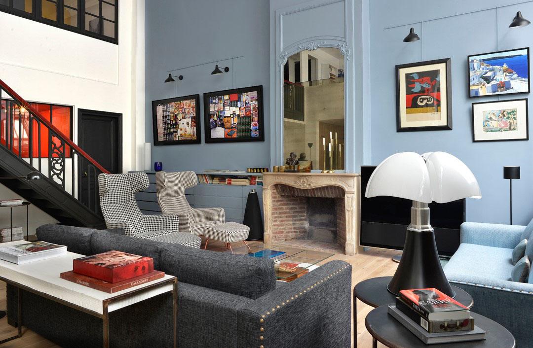 Salon Classique Et Moderne