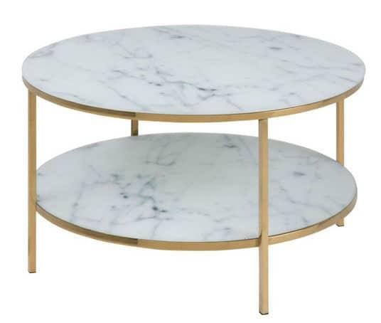 Table élégante En Marbre