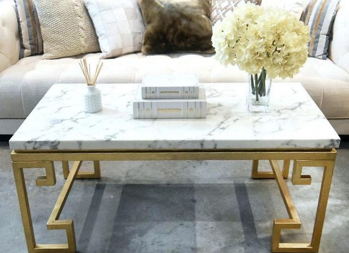 Table Marbre Blanc Pieds Originaux