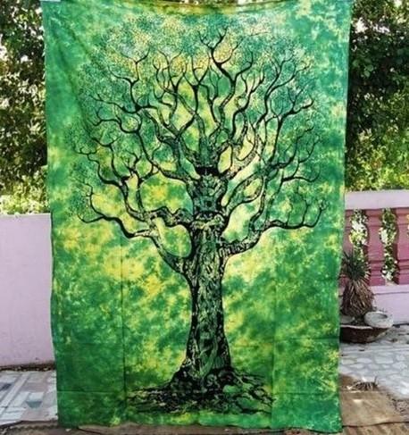 Tenture Murale Verte