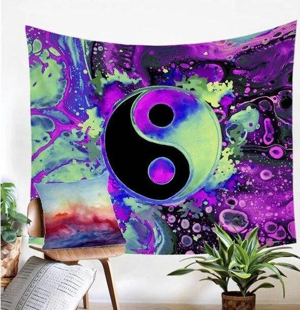 Tenture Yin Et Yang
