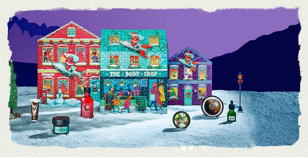 Calendrier De L Avent Beauté © The Body Shop