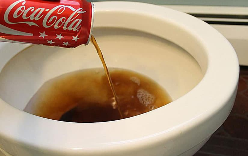 Deboucher Wc Coca Cola