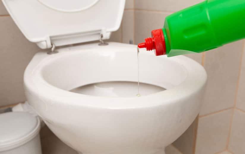 Deboucher Wc avec du Liquide Vaisselle