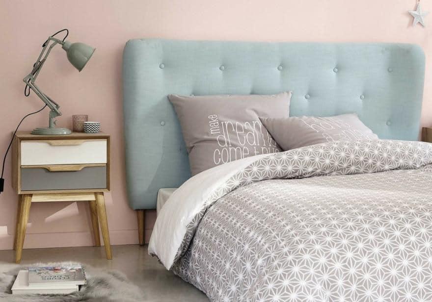 Chambre Bleu Et Rose