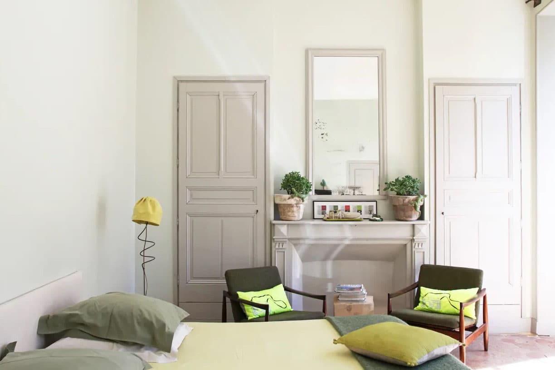 Chambre Lin Et Vert