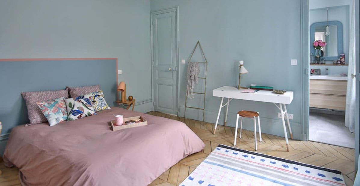 Chambre Rose Et Bleue