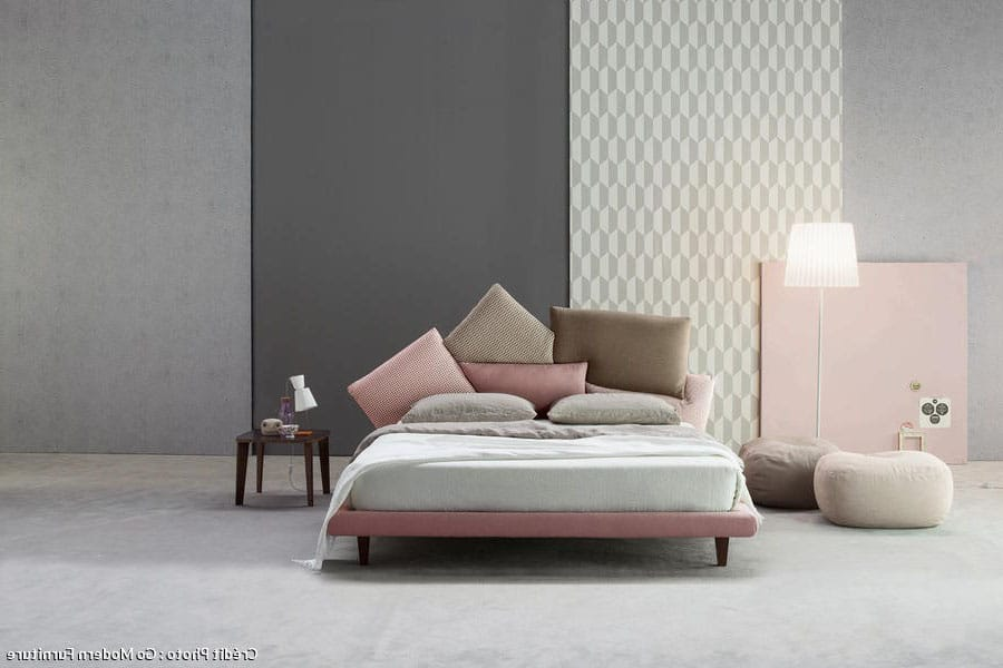 Chambre Taupe Et Notes Roses