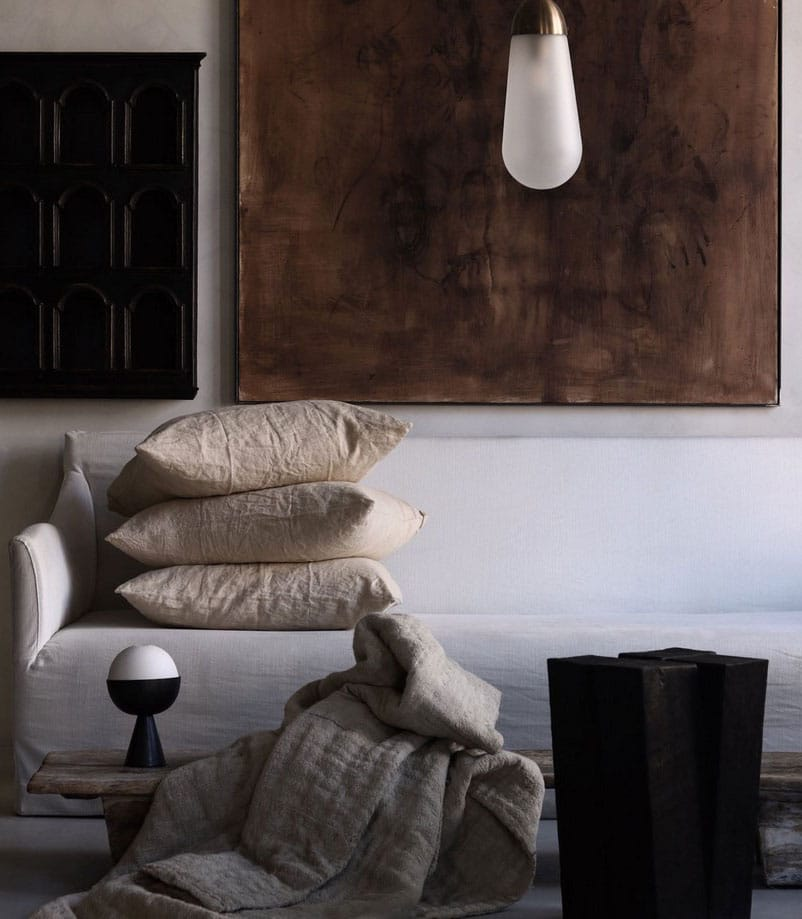 Coussin Lin Sable
