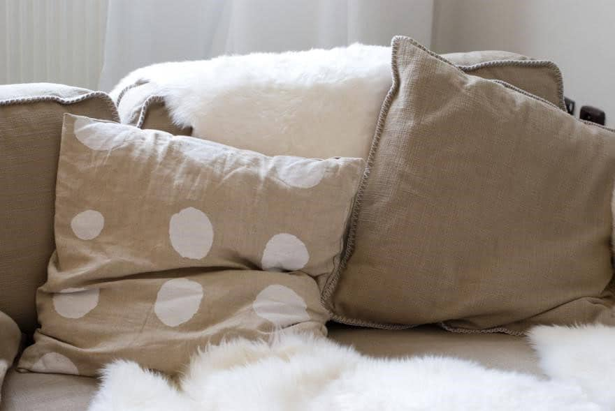 Coussins Taupe