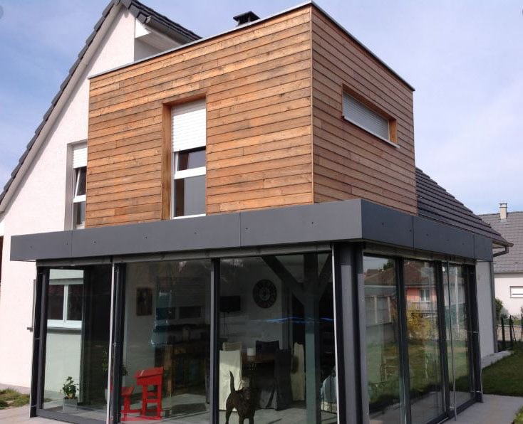 Extension Etage Maison Bois