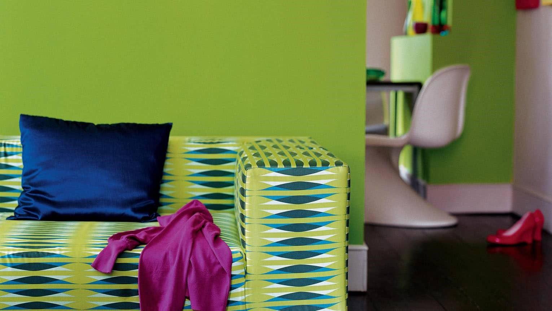 Fuchsia Vert Et Jaune