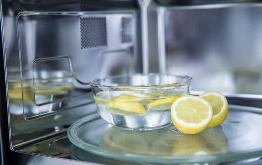 Micro Ondes Nettoyer Citron