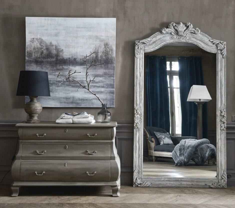 Miroir Finition Vieillie