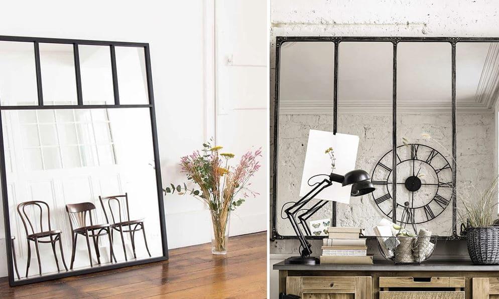 Miroir Industriel © Maisons Du Monde © Decoclico