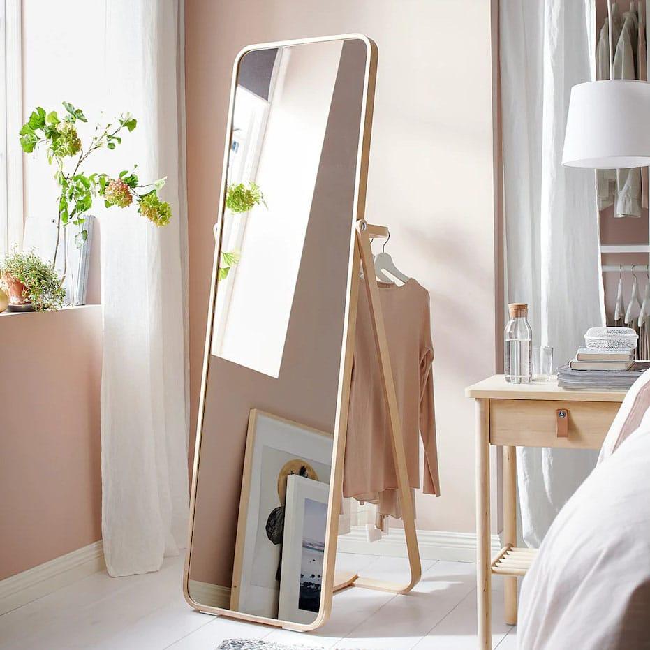 Cadre Photo Sur Pied Ikea grand miroir ikea : sélection des plus beaux modèles