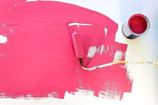 Peinture Rose