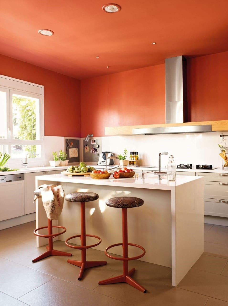 Plafond Et Mur Orange