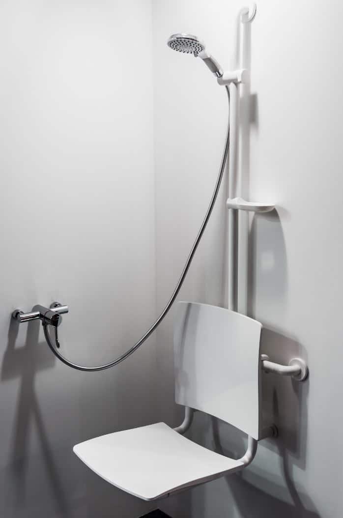 Toilette Douche Handicapé
