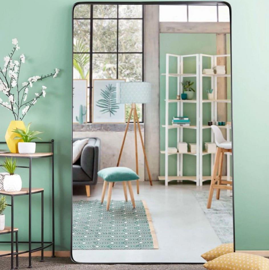 Grand Miroir D Entrée grand miroir rectangulaire : les plus beaux modèles pour