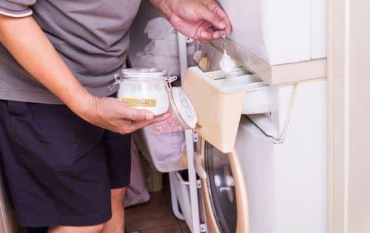 nettoyer Machine A Laver avec du Bicarbonate De Soude