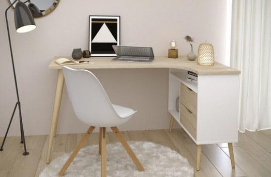 Bureau D Angle Scandinave Notre Selection De Modeles Pour Votre Deco