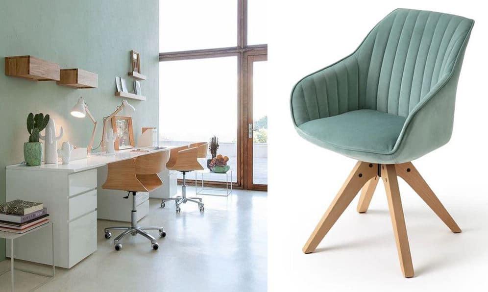 Chaise Bureau Scandinave