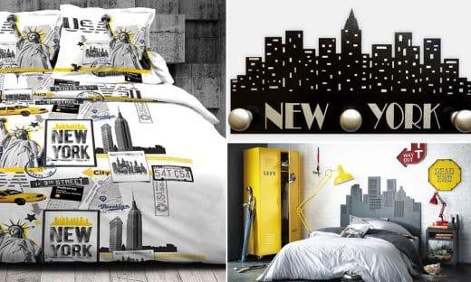 Déco Chambre New York
