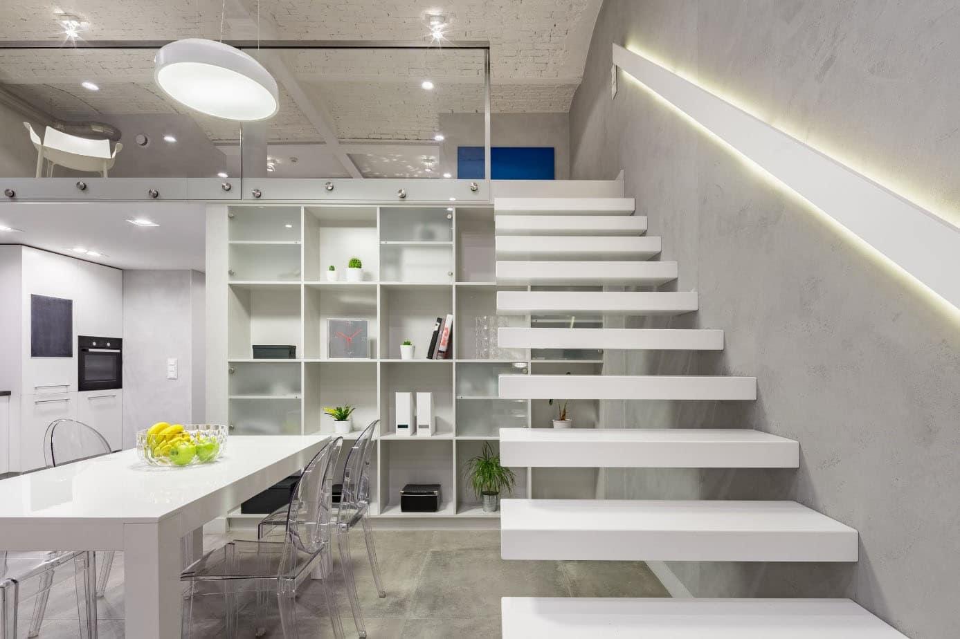 Escalier Design Aérien