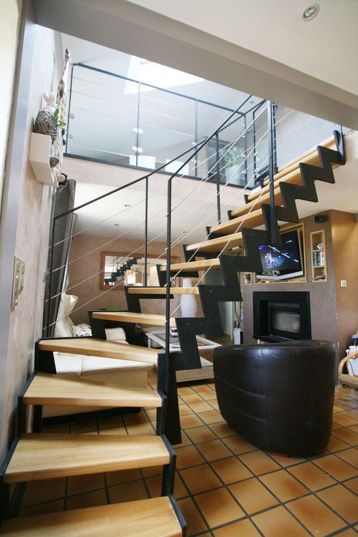 Escalier Mezzanine Moderne
