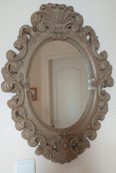 Miroir Baroque Ovale
