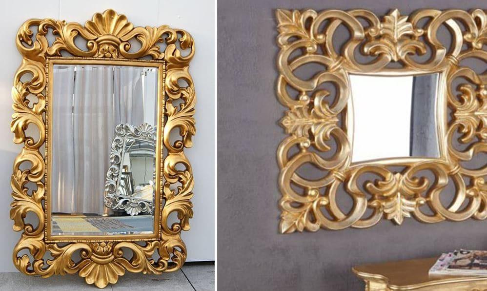 Miroir Doré Baroque