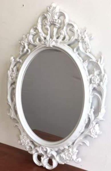 Miroir Ovale Baroque