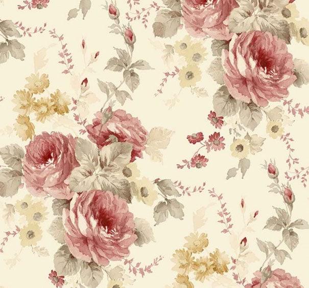 Papier Peint Roses